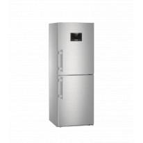 Liebherr CNPes 3758 kombinovaná chladnička, NoFrost, nerez + Akce 5 let záruka zdarma