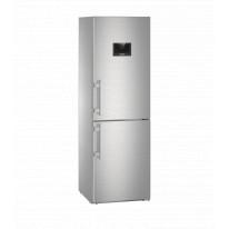 Liebherr CNPes 4358 kombinovaná chladnička, NoFrost, nerez + Akce 5 let záruka zdarma