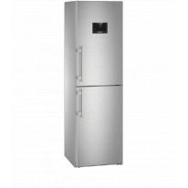 Liebherr CNPes 4758 kombinovaná chladnička, NoFrost, nerez + Akce 5 let záruka zdarma