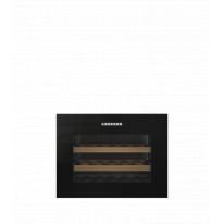 Liebherr WKEgb 582 vestavná kompaktní klimatizovaná vinotéka, bezúchytková, černá + Akce 5 let záruka zdarma