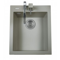 Set Sinks CUBE 410 Titanium+MIX 35 GR