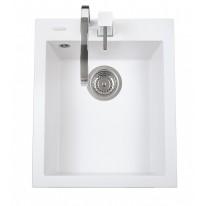 Set Sinks CUBE 410 Milk+CAPRI 4S GR