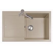 Set Sinks AMANDA 780 Truffle+CAPRI 4S GR