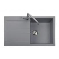 Set Sinks AMANDA 860 Titanium+CAPRI 4S GR