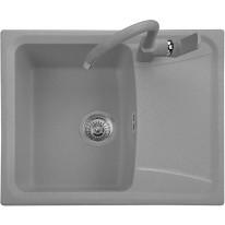 Set Sinks Sinks FORMA 610 Titanium + Sinks CAPRI 4 S - 72 Titanium