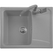 Set Sinks Sinks FORMA 610 Titanium + Sinks MIX 35 - 72 Titanium