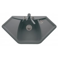 Set Sinks NAIKY 980 Titanium+CAPRI 4S GR