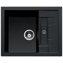 Set Sinks CRYSTAL 615 Metalblack+MIX 350P