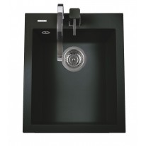 Set Sinks CUBE 410 Granblack+CAPRI 4 GR