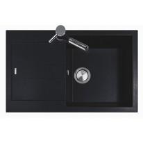 Set Sinks AMANDA 780 Metalblack+MIX 3P GR