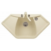 Set Sinks NAIKY 980 Sahara+MIX 3P GR