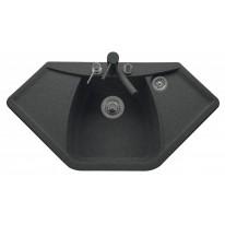 Set Sinks NAIKY 980 Granblack+MIX 3P GR