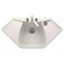 Set Sinks NAIKY 980 Milk+MIX 350P
