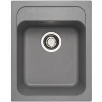 Set Sinks Sinks CLASSIC 400 Titanium + Sinks CAPRI 4 S - 72 Titanium