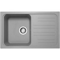 Set Sinks CLASSIC 740 Titanium+CAPRI 4 GR