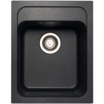 Set Sinks CLASSIC 400 Metalblack+CAPRI 4S GR