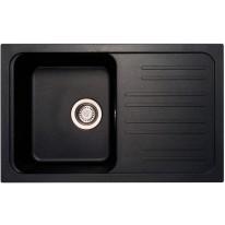 Set Sinks CLASSIC 740 Metalblack+CAPRI 4S GR