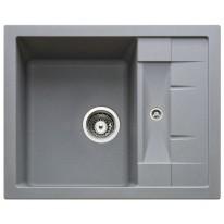 Set Sinks CRYSTAL 615 Titanium+CAPRI 4 GR