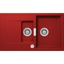 Schock Mono D-150 CRISTADUR Rouge granitový dřez spodní montáž