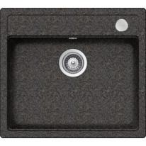 Schock Mono N-100 CRISTADUR Rockenstein granitový dřez horní montáž