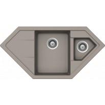 Schock Primus C-150 CRISTALITE+ Beton granitový dřez horní montáž