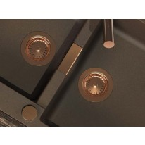 Schock Viditelné kovové části v mědi 629329COP