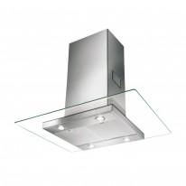 Faber GLASSY ISOLA SP EV8 X/V A90  - ostrůvkový odsavač, nerez / sklo, šířka 90cm