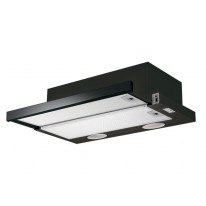 Faber Flexa GLASS BK A60 černá / lišta černé sklo