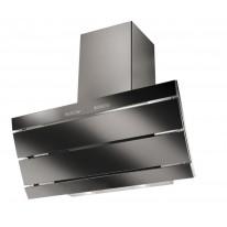 Faber Orizzonte Plus Vetro EG8 X/V A90 LOGIC nerez / černé sklo