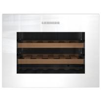 Liebherr WKEgw 582 vestavná kompaktní klimatizovaná vinotéka, bezúchytková, bílá