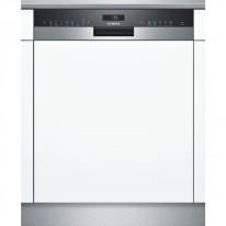 Siemens SN558S02ME vestavná myčka nádobí s panelem nerez/černá, 60 cm