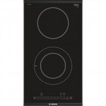 Bosch PKF375FP1E sklokeramická varná deska Domino, černá, 30 cm