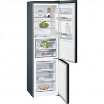Siemens KG39FPB45 noFrost, Kombinace chladnička/mraznička barva: černý nerez