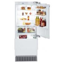 Liebherr ECBN 5066 kombinovaná vestavná chladnička, bílá, panty vpravo