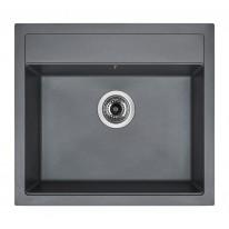 Set Sinks SOLO 560 Titanium+CAPRI 4S GR