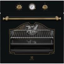 Electrolux EOA5220AOR 600 FLEX SurroundCook vestavná trouba, černá/mosaz Rococo , A