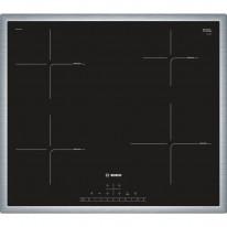 Bosch PIE645FB1E indukční deska s rámečkem nerez, 60 cm, černá