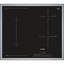 Bosch PVS645FB1E indukční deska s rámečkem nerez, 60 cm