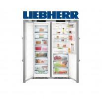 Liebherr SBSes 8663 Americká chladnička, BioFresh, NoFrost, nerez, A+++ + Akce 5 let záruka zdarma