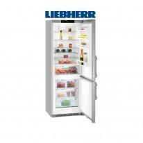 Liebherr CNEF 5715 kombinovaná chladnička, stříbrná, NoFrost, A+++