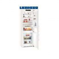 Liebherr CN 5715 kombinovaná chladnička, stříbrná, NoFrost, A+++