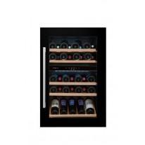 Avintage AVI48CDZ vestavná vinotéka dvouzónová, 52 lahví, černá