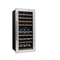 Avintage AVI81XDZ vestavná vinotéka dvouzónová, 79 lahví, stříbrná