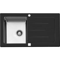Sinks Sinks VITRUM 860 V 1mm kartáčovaný černý