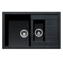 Sinks CRYSTAL 780.1 Metalblack