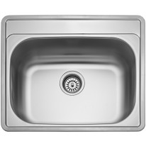 Sinks COMFORT 600 V 0,6mm matný
