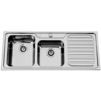 Sinks Sinks CAPRICE 1200 DUO V 0,7mm levý leštěný