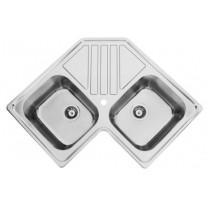 Sinks Sinks KEPLER 830 DUO V 0,7mm leštěný