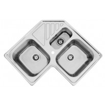 Sinks KEPLER 830.1 DUO V 0,7mm leštěný