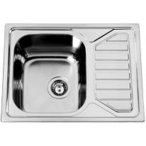 Sinks OKIOPLUS 650 V 0,7mm leštěný